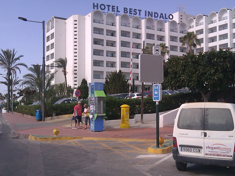 ALMERIA & ALICANTE - Hotel indalo pick up point - Exclusive Airport Shuttles.jpg